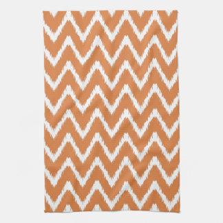 Orange Peel Southern Cottage Chevrons Kitchen Towel