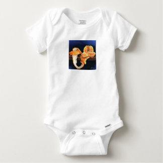 Orange, Peeled Baby Onesie