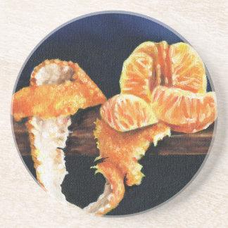 Orange, Peeled Coaster