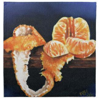 Orange, Peeled Napkin