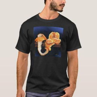 Orange, Peeled T-Shirt