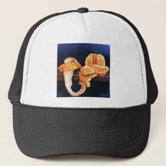 Orange, Peeled Trucker Hat