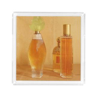 Orange Perfumes Acrylic Tray