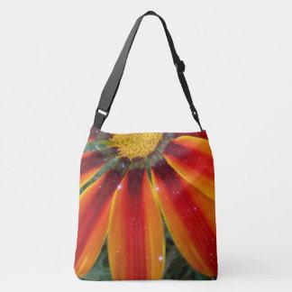 Orange Petals Crossbody Bag