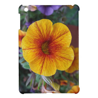 Orange Petunia iPad Mini Cover