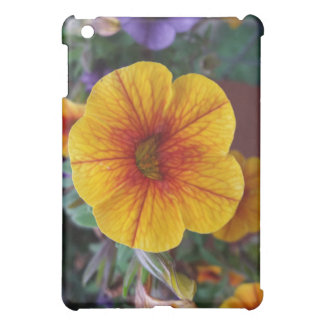 Orange Petunia iPad Mini Covers