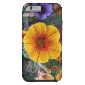 Orange Petunia Tough iPhone 6 Case