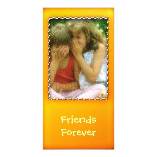 Orange photo frame - Photo Card