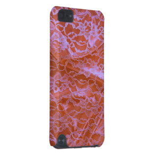 Orange Pink Lace iPod Touch (5th Generation) Case