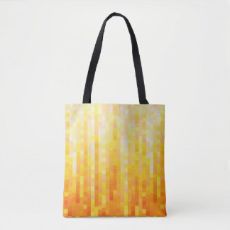Orange Pixel Bag