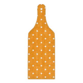 Orange Polka Dot Design Cutting Board