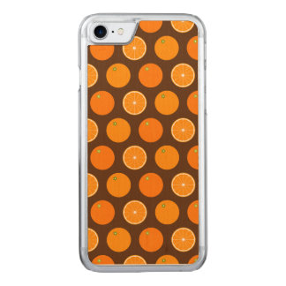 Orange Polka Dot (Exclusive) Carved iPhone 7 Case