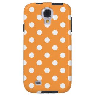 Orange Polka Dot Pattern