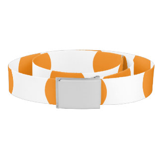 Orange Polka Dots Belt