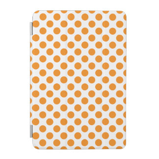 Orange Polka Dots iPad Mini Cover