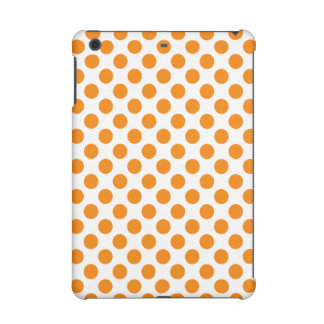 Orange Polka Dots iPad Mini Retina Covers