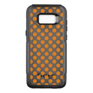 Orange Polka Dots OtterBox Commuter Samsung Galaxy S8+ Case