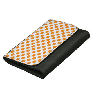 Orange Polka Dots Wallets