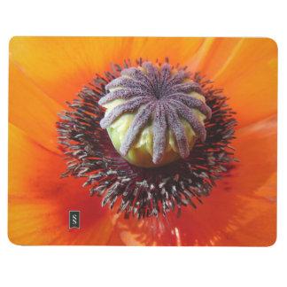 Orange Poppy Pocket Journal