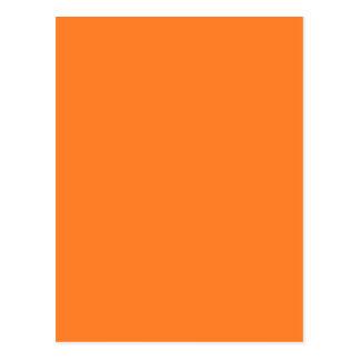 Orange Postcard