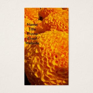 Orange Puff Profile Card
