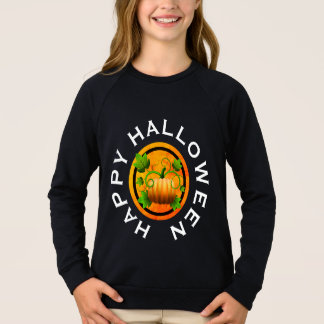 Orange Pumpkin Halloween Shirt