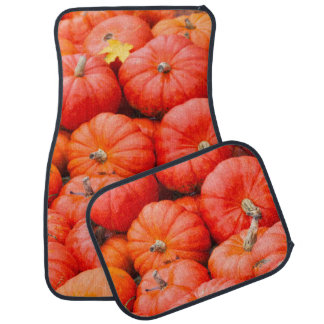 Orange pumpkins at market, Germany Car Carpet