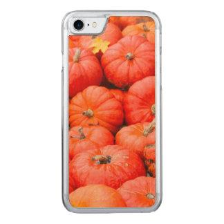 Orange pumpkins at market, Germany Carved iPhone 7 Case