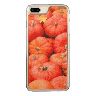 Orange pumpkins at market, Germany Carved iPhone 7 Plus Case