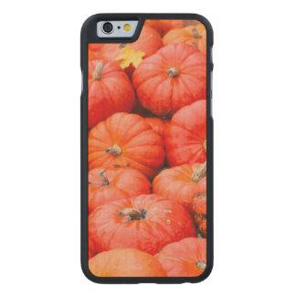 Orange pumpkins at market, Germany Carved Maple iPhone 6 Case