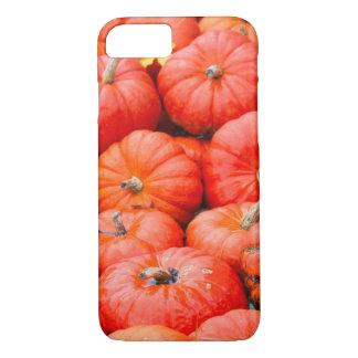 Orange pumpkins at market, Germany iPhone 7 Case