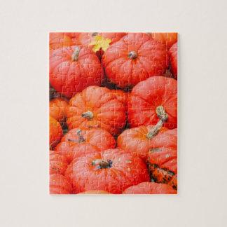 Orange pumpkins at market, Germany Jigsaw Puzzle