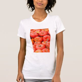 Orange pumpkins at market, Germany T-Shirt
