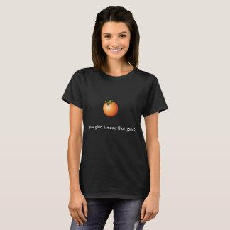 Orange Pun Shirt