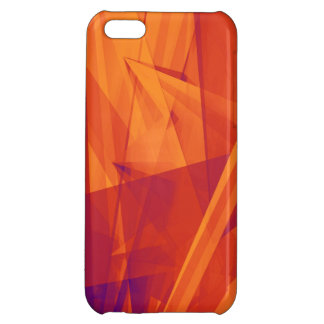 Orange Purple Abstract Background for Design Case For iPhone 5C