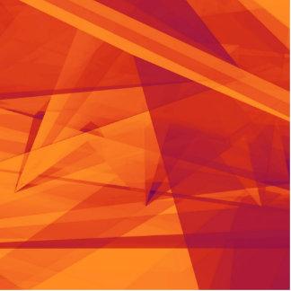 Orange Purple Abstract Background for Design Photo Sculpture Button