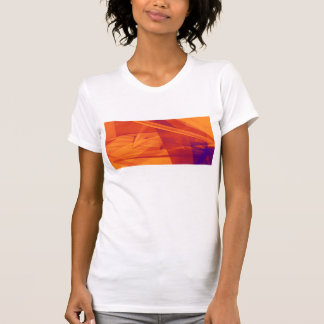 Orange Purple Abstract Background for Design T-Shirt