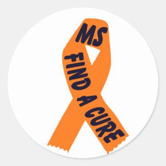 Orange Ribbon Awareness, Sticker