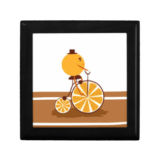 Orange ride keepsake box
