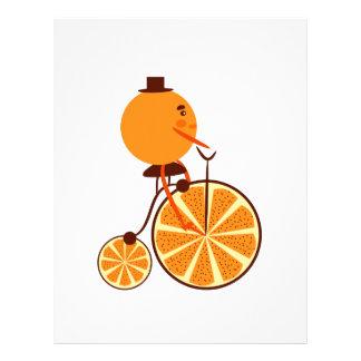 Orange ride letterhead