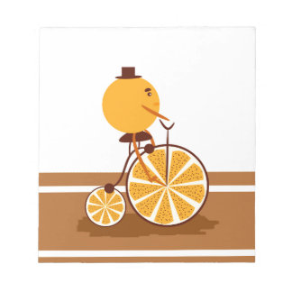 Orange ride notepad