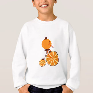 Orange ride sweatshirt