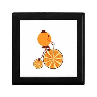 Orange ride trinket box