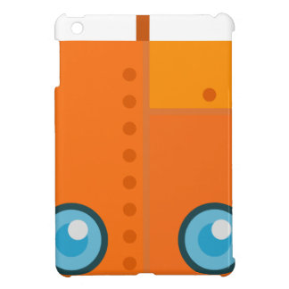 Orange Robot Cover For The iPad Mini