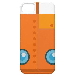 Orange Robot iPhone 5 Case
