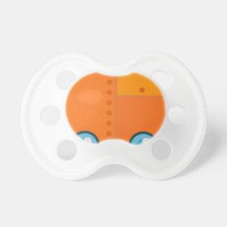 Orange Robot Pacifier