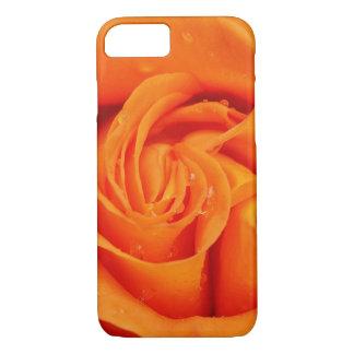 Orange Rose Blossom iPhone 7 Case
