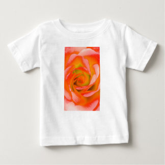 Orange Rose Close-up Baby T-Shirt