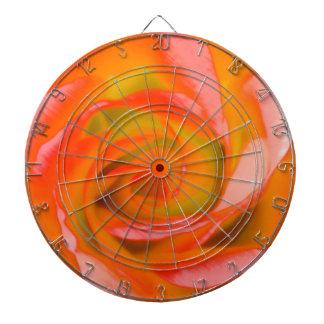 Orange Rose Close-up Dartboard