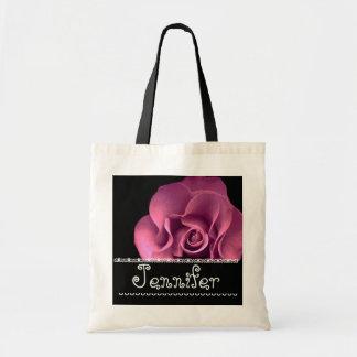 Orange Rose Wedding Favor Bridesmaid Bag